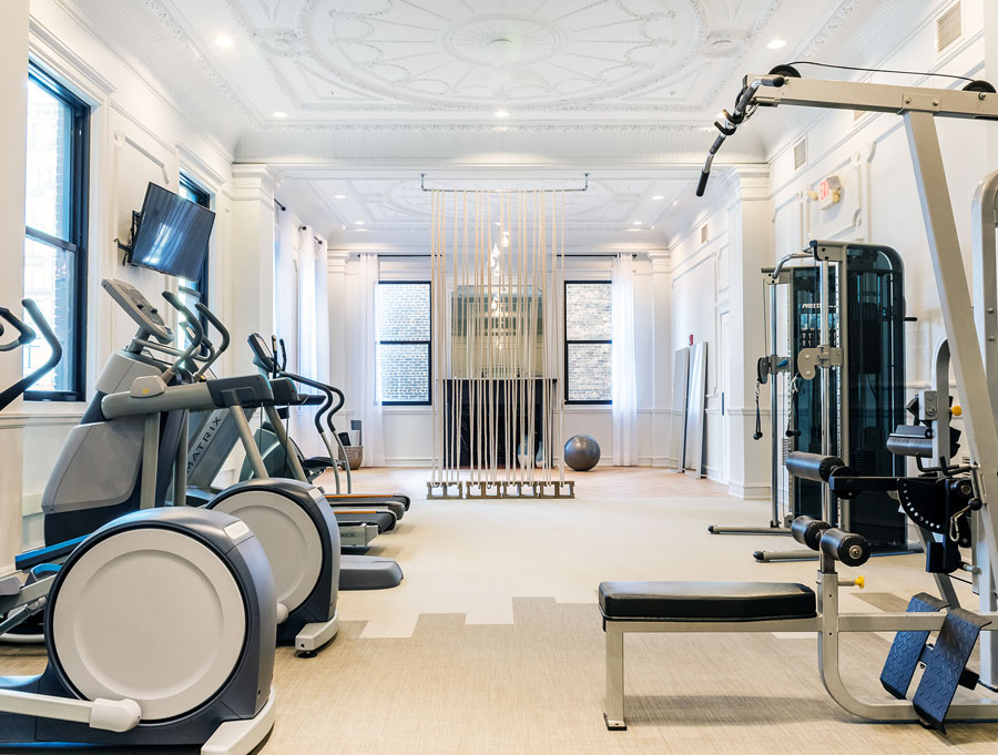 The grand fitness room photography adx creative